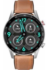oromed - Smartwatch Oromed Smart FIT4 Brązowy (ORO-SMART_FIT4). Rodzaj zegarka: smartwatch. Kolor: brązowy