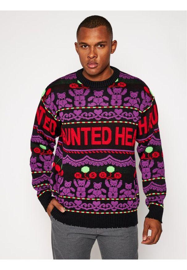 Sweter klasyczny MSGM w kolorowe wzory
