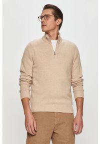 Sweter Marc O'Polo casualowy, krótki, z długim rękawem