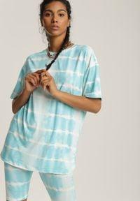 Renee - Jasnoniebieski 2-Częściowy Komplet Dresowy Absyrobus. Kolor: niebieski. Materiał: dresówka