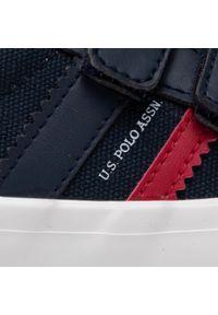 U.S. Polo Assn - Sneakersy U.S. POLO ASSN. - Matry155 MATRY4155S1/CY1 Dkbl. Okazja: na spacer. Zapięcie: rzepy. Kolor: niebieski. Materiał: skóra ekologiczna, materiał. Szerokość cholewki: normalna #5