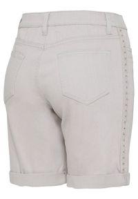 Szare jeansy bonprix na lato