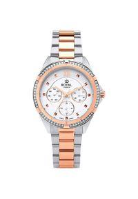 Biały zegarek Royal London elegancki