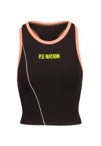 PE Nation - Top P.E NATION MATCH PLAY SPORTS BRA. Materiał: tkanina, elastan. Wzór: kolorowy. Styl: sportowy