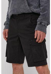 Only & Sons - Szorty. Okazja: na co dzień. Kolor: czarny. Materiał: tkanina, bawełna. Wzór: gładki. Styl: casual