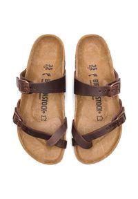 Birkenstock Japonki Mayari 0071023 Brązowy. Kolor: brązowy