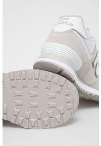 New Balance - Buty ML574ES2. Nosek buta: okrągły. Zapięcie: sznurówki. Kolor: szary. Materiał: guma. Model: New Balance 574