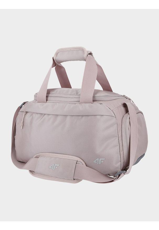 4f - Mała torba sportowa. Kolor: różowy. Materiał: guma