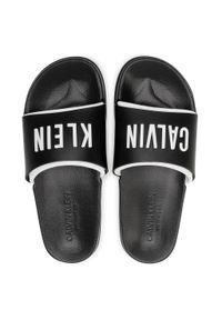 Czarne klapki Calvin Klein Swimwear