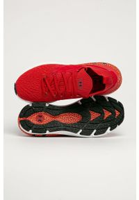 Under Armour - Buty UA Hovr Phantom 2. Nosek buta: okrągły. Zapięcie: sznurówki. Kolor: czerwony. Materiał: guma. Sport: bieganie