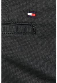 Niebieskie spodnie TOMMY HILFIGER casualowe, na co dzień, gładkie