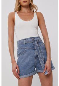 Haily's - Szorty jeansowe. Okazja: na co dzień. Kolor: niebieski. Materiał: jeans. Styl: casual