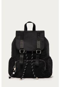 Czarny plecak medicine gładki