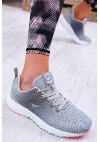 Szare buty sportowe IVET na fitness i siłownię, na co dzień