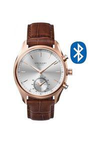 Kronaby Połączony wodoodporny zegarek A1000-2746 szekli. Styl: retro