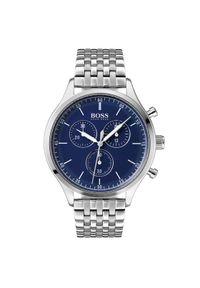 Srebrny zegarek BOSS