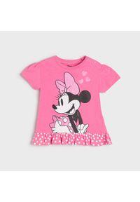 Koszulka Myszka Minnie - Różowy
