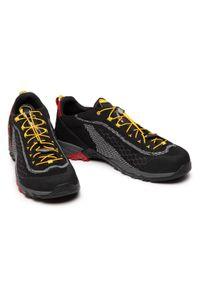 Kayland - Trekkingi KAYLAND - Alpha Knit 018020055 Black. Kolor: czarny. Materiał: skóra ekologiczna, materiał. Szerokość cholewki: normalna. Sport: turystyka piesza