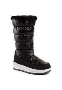 Czarne śniegowce CMP na zimę