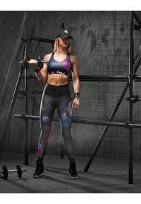 FJ! - STANIK SPORTOWY FUTURE. Materiał: dzianina, guma, żakard, elastan, poliester. Sport: fitness, bieganie