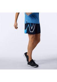 New Balance MS01242HLU. Materiał: skóra, materiał. Wzór: kolorowy. Sport: fitness