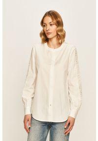 Biała koszula TOMMY HILFIGER elegancka, na co dzień