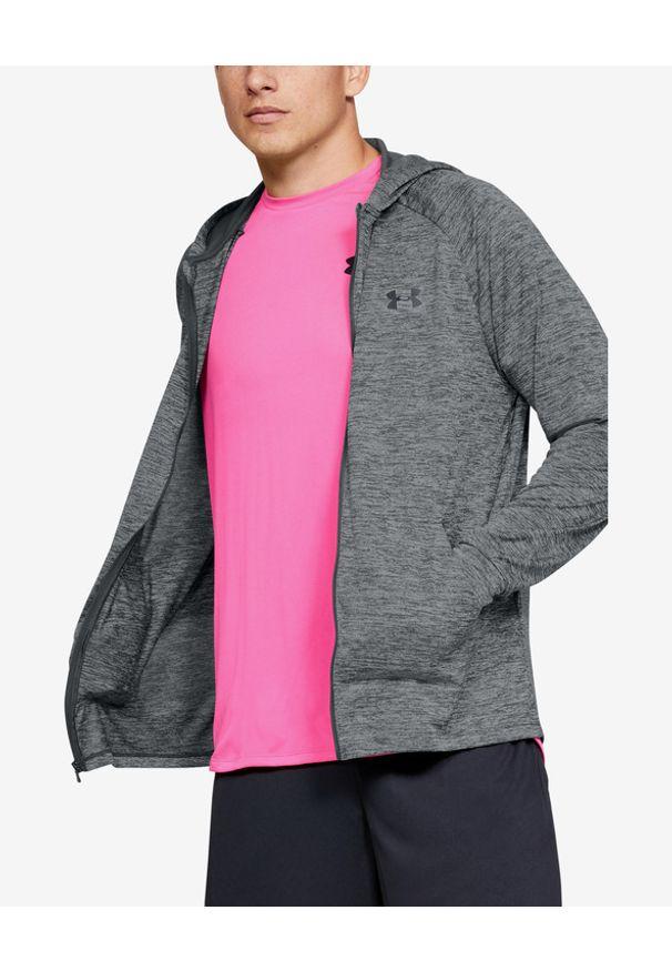 Szara bluza Under Armour w kolorowe wzory, długa