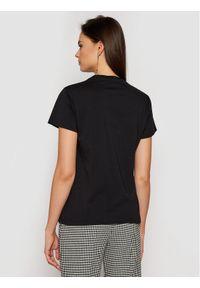 Czarny t-shirt Pinko