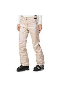 Spodnie damskie narciarskie Rossignol Basalt RLIWP24. Materiał: tkanina, syntetyk, włókno, materiał. Technologia: Thinsulate. Sezon: zima. Sport: narciarstwo