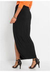 Czarna spódnica bonprix elegancka, długa