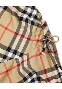 BURBERRY CHILDREN - Sukienka w kratkę 6-12 lat. Okazja: na co dzień. Kolor: czarny. Materiał: bawełna. Wzór: kratka. Sezon: lato. Typ sukienki: proste. Styl: elegancki, casual