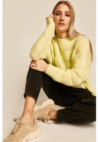 medicine - Medicine - Sweter Basic. Kolor: żółty