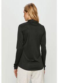Czarna bluzka z długim rękawem Tommy Sport na co dzień, sportowa #5