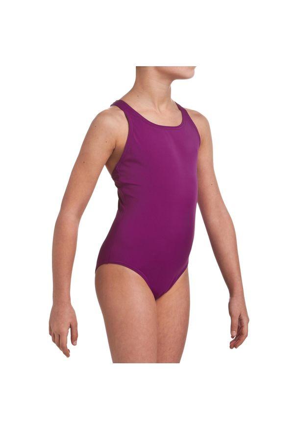 NABAIJI - Strój Jednoczęściowy Pływacki Leony Dla Dzieci. Materiał: poliester, poliamid, materiał, elastan
