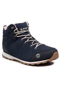 Niebieskie buty trekkingowe Hi-tec trekkingowe