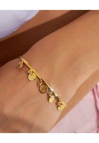 HERMINA ATHENS - Pozłacana bransoleta Zendaya. Materiał: pozłacane. Kolor: złoty