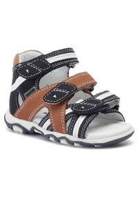 Niebieskie sandały Bartek na lato
