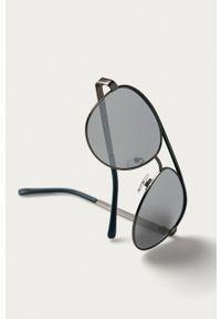 Guess - Okulary przeciwsłoneczne GF0172. Kolor: szary