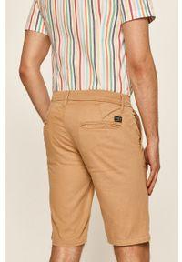 Beżowe szorty Guess Jeans casualowe, na co dzień
