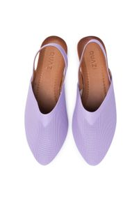 Fioletowe sandały QUAZI