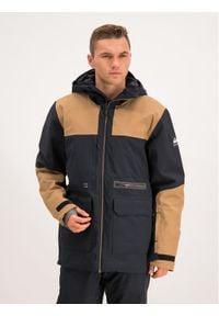 Quiksilver Kurtka snowboardowa Arrow Wood EQYTJ03212 Czarny Modern Fit. Kolor: czarny. Sport: snowboard