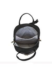 Wittchen - Damski plecak z nylonu. Kolor: czarny. Materiał: nylon. Styl: elegancki