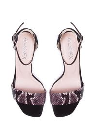 Czarne sandały Ann Mex eleganckie