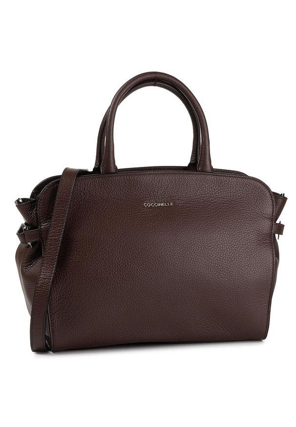 Brązowa torebka klasyczna Coccinelle klasyczna