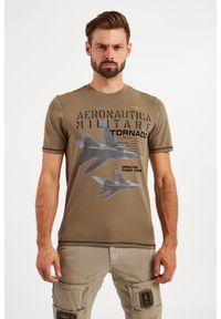 Aeronautica Militare - T-SHIRT AERONAUTICA MILITARE. Wzór: haft, nadruk, kolorowy