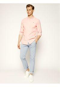 Pierre Cardin Spodnie materiałowe 33747/000/4786 Niebieski Modern Fit. Kolor: niebieski. Materiał: materiał