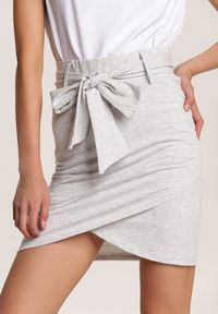 Szara spódnica mini Renee