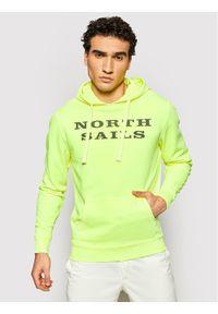 North Sails - The North Face Bluza W/Graphic 691584 0554 Żółty Regular Fit. Kolor: żółty