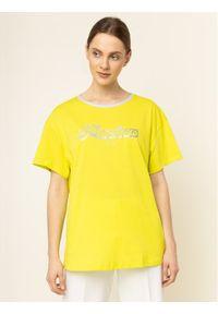 Liu Jo T-Shirt WA0231 J0094 Żółty Regular Fit. Kolor: żółty