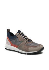 Geox Sneakersy U Delray A U15A7A 014PT C6659 Brązowy. Kolor: brązowy